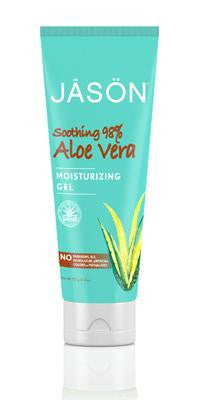 Buy Jason Natural, Aloe Vera Super Moisturizing Gel 98%, 4 oz at Herbal Bless Supplement Store