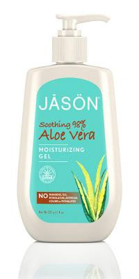 Buy Jason Natural, Aloe Vera Super Moisturizing Gel 98%, 8 oz at Herbal Bless Supplement Store