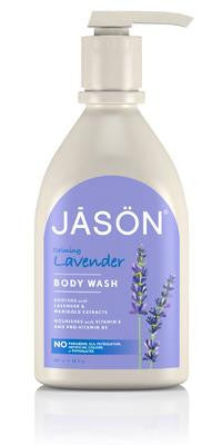 Buy Jason Natural, Calming Lavender Body Wash, 30 oz at Herbal Bless Supplement Store