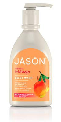 Buy Jason Natural, Softening Mango Body Wash, 30 oz at Herbal Bless Supplement Store