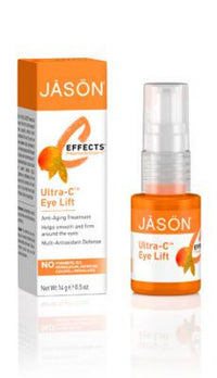 Buy Jason Natural, Ultra-C Anti Aging Eye Lift Cream, 0.5 oz at Herbal Bless Supplement Store