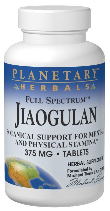 Buy Jiaogulan 375mg Full Spectrum™ Std 10% Gypenosides, Tablets at Herbal Bless Supplement Store
