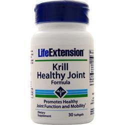 Buy Life Extension, Krill - Healthy Joint Formula, 30 sgels at Herbal Bless Supplement Store