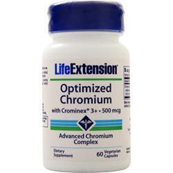 Buy Life Extension, Optimized Chromium with Crominex 3+ (500mcg), 60 vcaps at Herbal Bless Supplement Store
