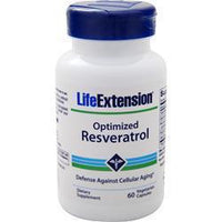 Buy Life Extension, Optimized Resveratrol (Defense Against Cellular Aging), 60 vcaps at Herbal Bless Supplement Store