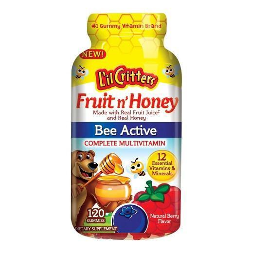 Buy L'il Critters™, Fruit'n Honey Complete Kids Multivitamin - Gummies 120 at Herbal Bless Supplement Store