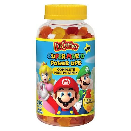 Buy L'il Critters™, Super Mario™ Power Ups Multivitamin, Gummies 190 at Herbal Bless Supplement Store