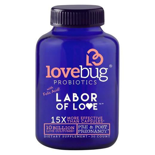 Buy LoveBug Probiotic, Labor of Love - 30ct at Herbal Bless Supplement Store