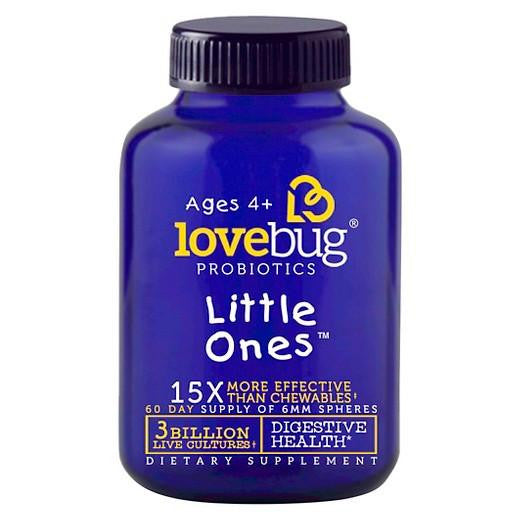 Buy LoveBug Probiotics, Little Ones Digestive Health 6mm Spheres - 60ct at Herbal Bless Supplement Store
