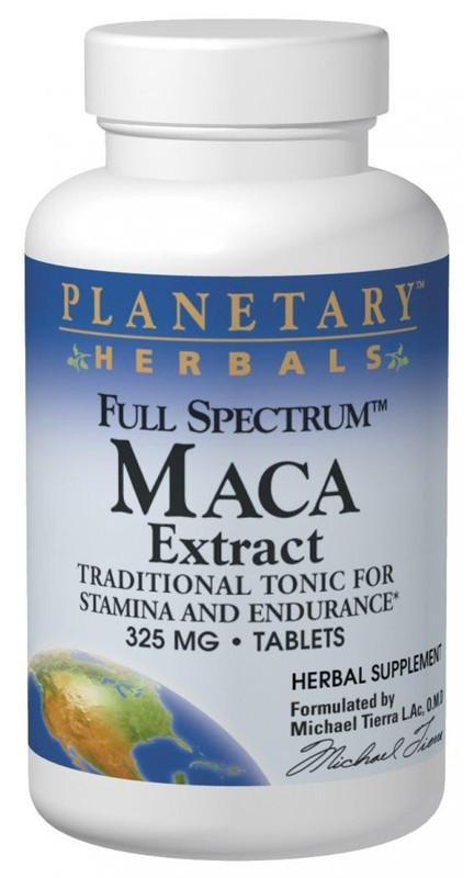 Buy Maca Extract 325mg - Std 0.6% Macamides & Macaenes, Tablets at Herbal Bless Supplement Store