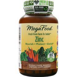 Buy Megafood, Zinc, 60 tabs at Herbal Bless Supplement Store