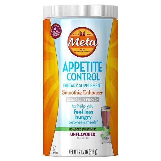 Buy Meta Appetite Control Smoothie, Unflavored Powder, 21.7 oz at Herbal Bless Supplement Store