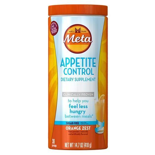 Buy Meta Appetite Control Sugar-Free Orange Zest Powder, 14.7 oz at Herbal Bless Supplement Store