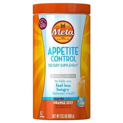 Buy Meta Appetite Control Sugar-Free Orange Zest Powder, 23.3 oz at Herbal Bless Supplement Store