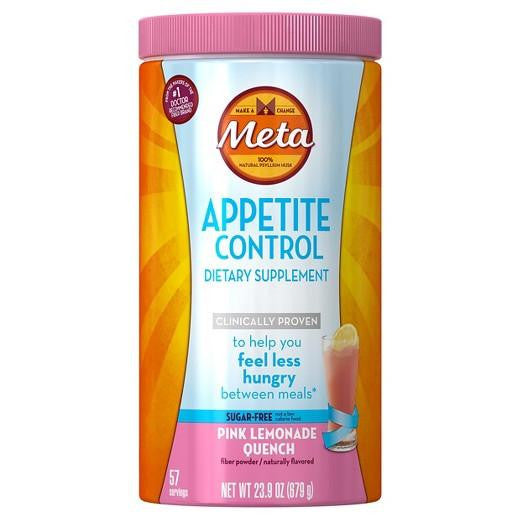 Buy Meta Appetite Control Sugar-Free Pink Lemonade Quench - 23.3 oz at Herbal Bless Supplement Store