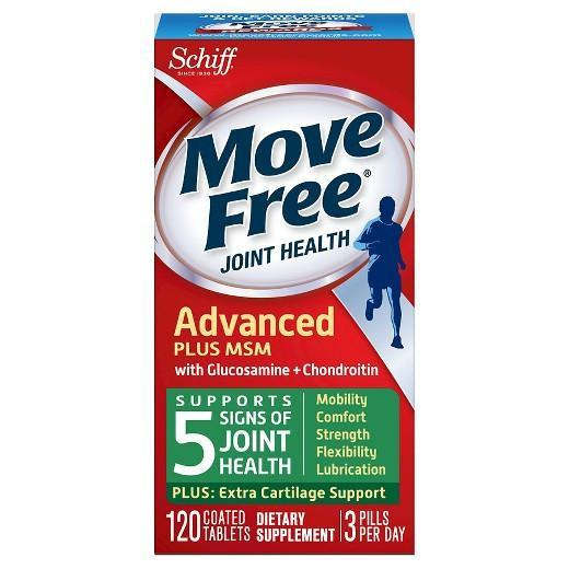 Buy Move Free, Joint Health Glucosamine, Chondroitin Plus MSM, Tablets 120 at Herbal Bless Supplement Store