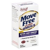 Buy Move Free, Joint Supplement with Omega-3 Krill Oil, Hyaluronic Acid and Astaxanthin, Softgels 30 at Herbal Bless Supplement Store