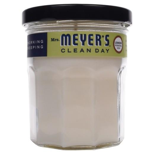 Buy Mrs. Meyer's®, Clean Day Glass Candle Lemon Verbena 4.9oz at Herbal Bless Supplement Store
