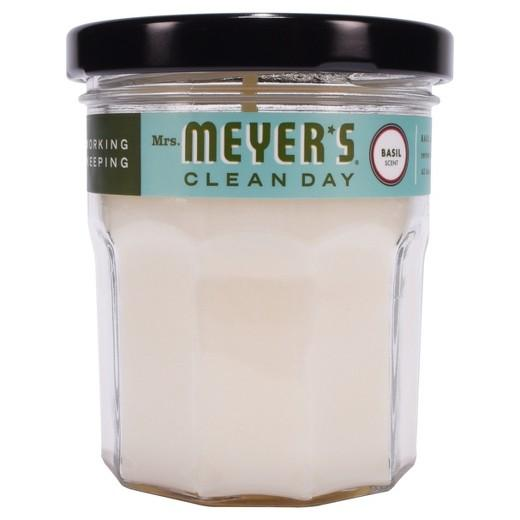 Buy Mrs. Meyer's®, Clean Day Scented Soy Candle Small Basil 4.9oz at Herbal Bless Supplement Store