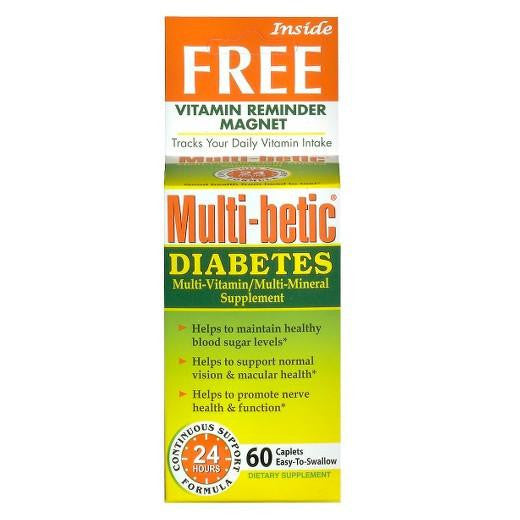 Buy Multi Betic, Multi Vitamin Advanced Diabetic Formula - 60 Tablets at Herbal Bless Supplement Store