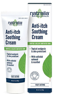 Buy Natralia, Anti-Itch Soothing Cream, 3 oz at Herbal Bless Supplement Store