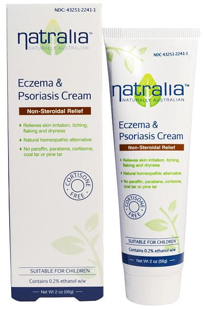 Buy Natralia, Eczema & Psoriasis Cream, 2 oz at Herbal Bless Supplement Store