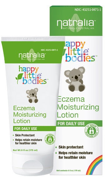 Buy Natralia, Happy Little Bodies Eczema Moisturizing Lotion, 6 oz at Herbal Bless Supplement Store