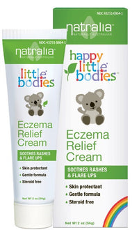 Buy Natralia, Happy Little Bodies Eczema Relief Cream, 2 oz at Herbal Bless Supplement Store