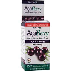 Buy Natrol, AcaiBerry (1000mg) 75 vcaps at Herbal Bless Supplement Store