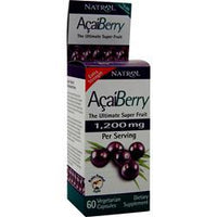 Buy Natrol, AcaiBerry (600mg) 60 vcaps at Herbal Bless Supplement Store
