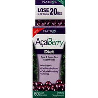 Buy Natrol, AcaiBerry Diet, 60 caps at Herbal Bless Supplement Store