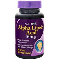 Buy Natrol, Alpha Lipoic Acid (50mg) 60 caps at Herbal Bless Supplement Store
