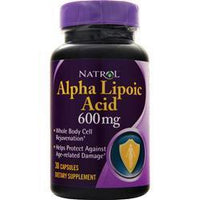 Buy Natrol, Alpha Lipoic Acid (600mg) 30 caps at Herbal Bless Supplement Store