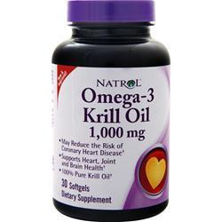 Buy Natrol, Omega-3 Krill Oil (1,000mg) 30 sgels at Herbal Bless Supplement Store