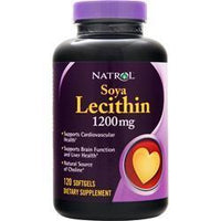 Buy Natrol, Soya Lecithin (1200mg) 120 sgels at Herbal Bless Supplement Store