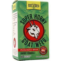 Buy Natural Balance, Super Horny Goat Weed, 60 vcaps at Herbal Bless Supplement Store
