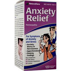 Buy Natural Care, Anxiety Relief, 120 tabs at Herbal Bless Supplement Store