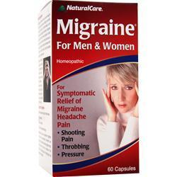 Buy Natural Care, Migraine For Men & Women, 60 caps at Herbal Bless Supplement Store