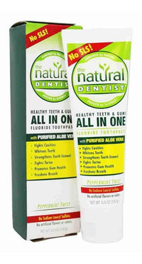 Buy Natural Dentist, All in One Fluoride Toothpaste Peppermint Twist, 5 oz at Herbal Bless Supplement Store
