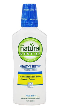 Buy Natural Dentist, Anti-Cavity Fluoride Rinse Fresh Mint, 16.9 oz at Herbal Bless Supplement Store