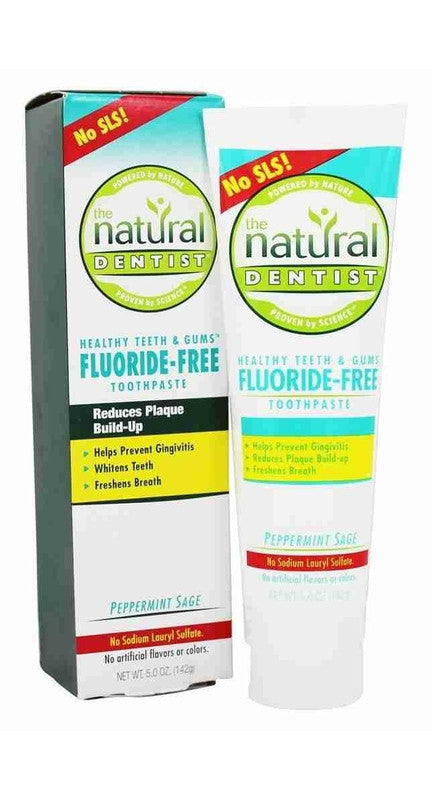 Buy Natural Dentist, Healthy Teeth & Gums Flouride-Free Toothpaste Peppermint, 5 oz at Herbal Bless Supplement Store