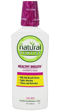 Buy Natural Dentist, Natural Antiseptic Mouth Rinse Cool Mint, 16.9 oz at Herbal Bless Supplement Store