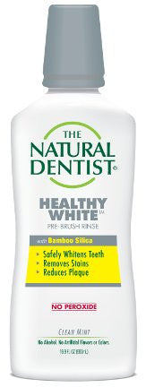 Buy Natural Dentist, Whitening Pre Brush Rinse Clean Mint, 16.9 oz at Herbal Bless Supplement Store