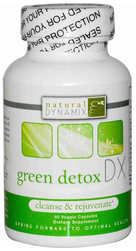 Buy Natural Dynamix, Green Detox DX, 60 cap vegi at Herbal Bless Supplement Store