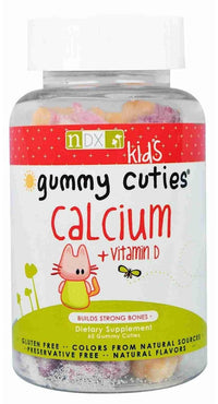 Buy Natural Dynamix, Kids Gummy Cuties Calcium with Vitamin D, 60 ct at Herbal Bless Supplement Store