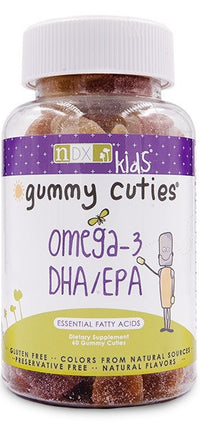 Buy Natural Dynamix, Kids Gummy Cuties DHA and EPA, 60 Gummies at Herbal Bless Supplement Store