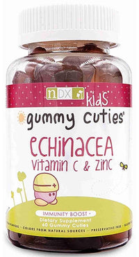 Buy Natural Dynamix, Kids Gummy Cuties Echinacea Vitamin C & Zinc, 60 ct at Herbal Bless Supplement Store