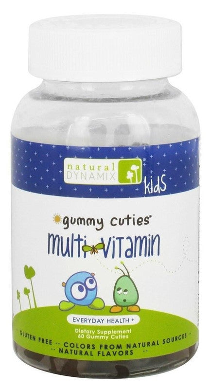 Buy Natural Dynamix, Kids Gummy Cuties Multi-Vitamin, 60 ct at Herbal Bless Supplement Store