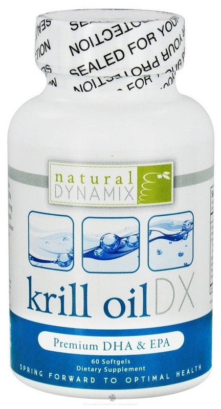 Buy Natural Dynamix, Krill Oil DX, 60 softgel at Herbal Bless Supplement Store