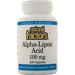 Buy Natural Factors, Alpha-Lipoic-Acid (100mg) at Herbal Bless Supplement Store